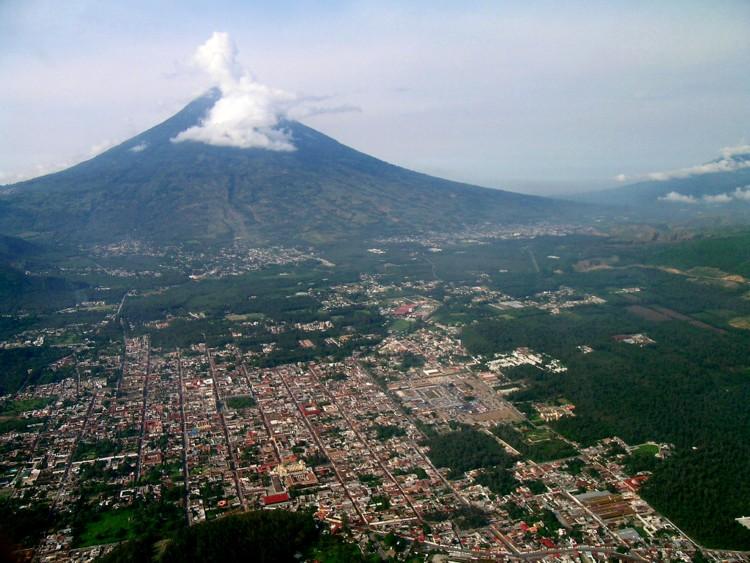 Valle de Panchoy y Antigua Guatemala
