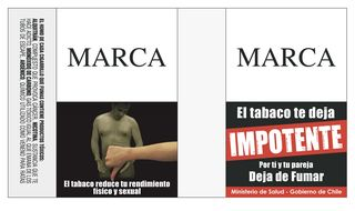 Advertencia Chile impotencia