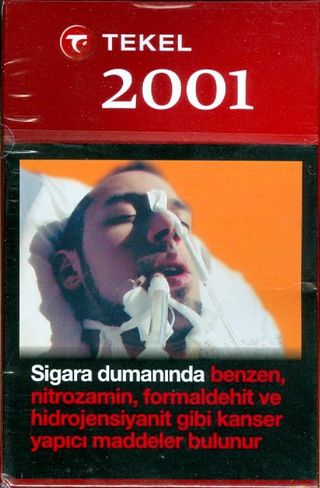 Turkey #7 - 2010 - Tekel 2001 - Front