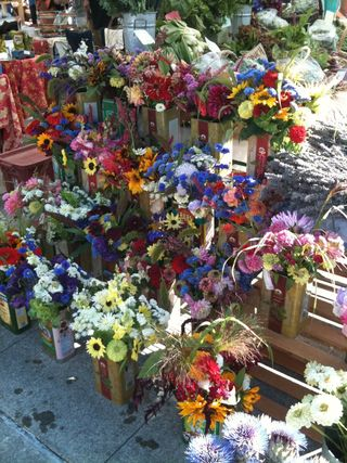 Flowers-farmers market