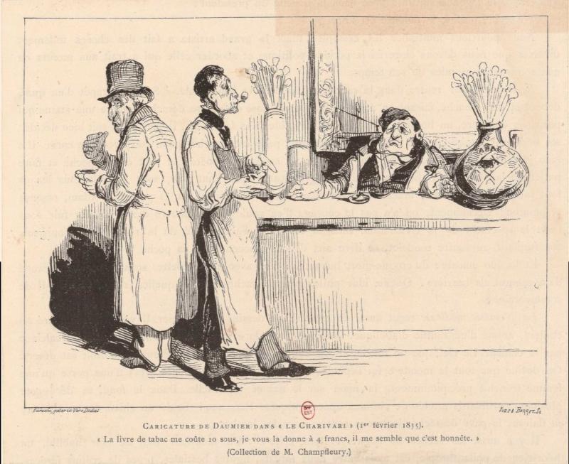 Daumier livre tabac 1835